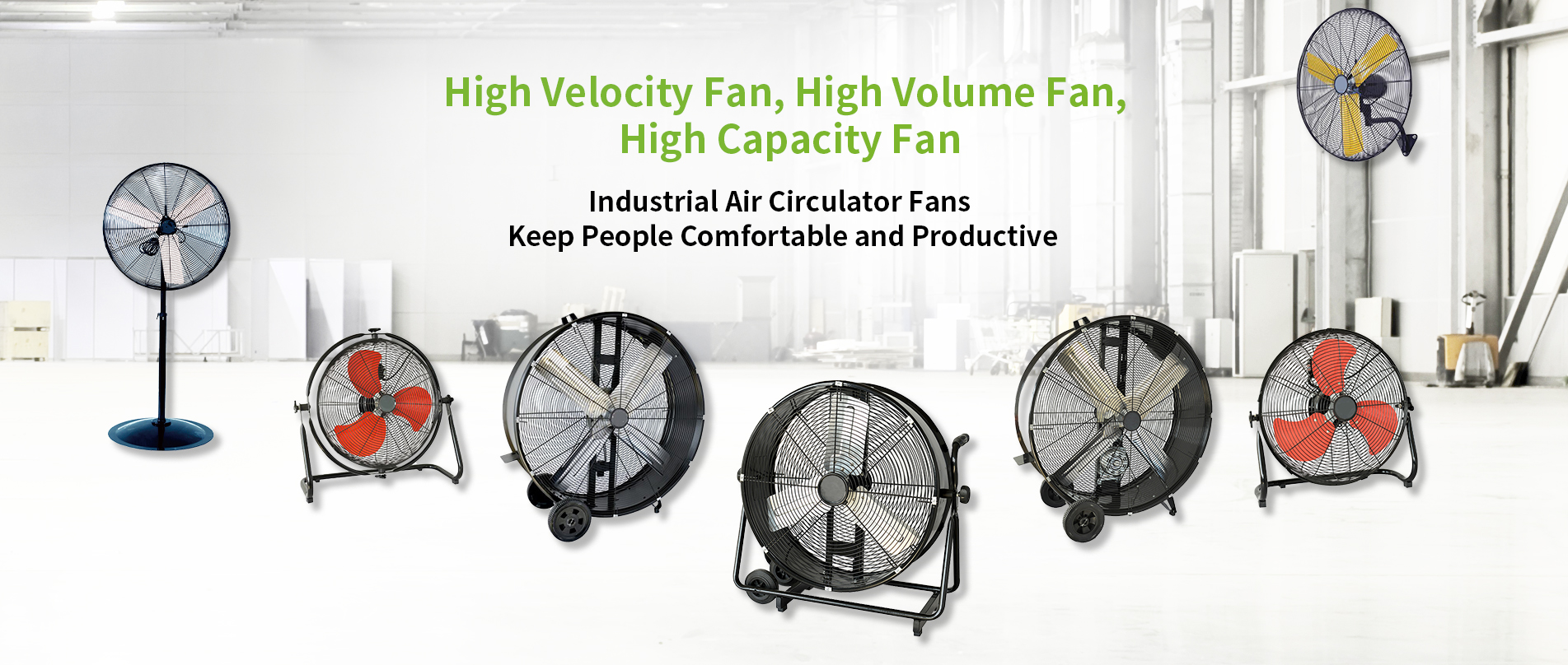 WINMORE Industrial Fans